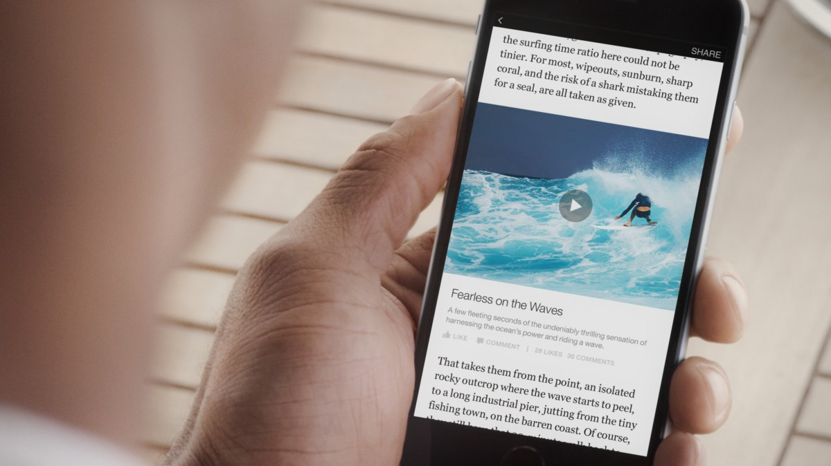 4 video 1200x674 Facebook launches Instant Articles for iPhone: Native content from BuzzFeed, the BBC and more