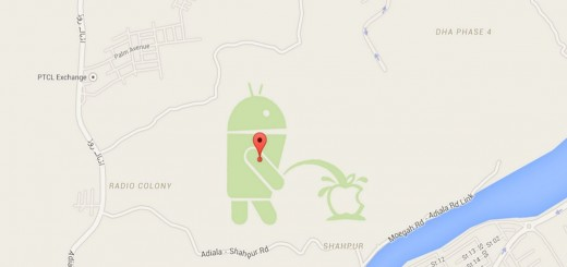 Android pee apple