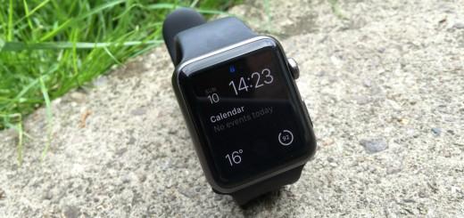 Apple Watch outside