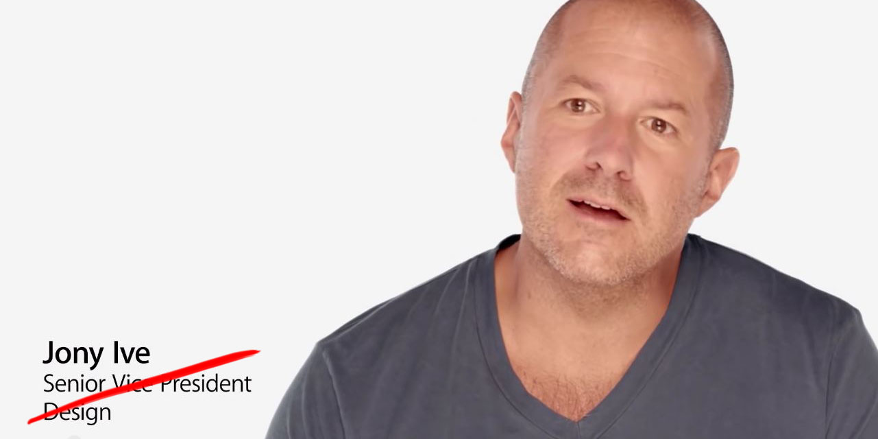 Jony Ive becomes Apple's Chief Design Officer, trusted ...