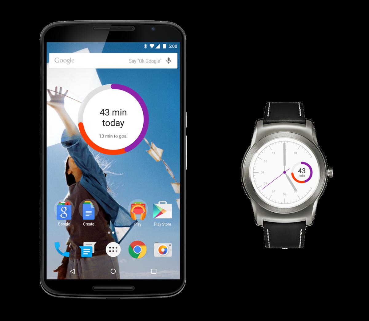 جوجل تحدث تطبيق مراقبة اللياقة Google Fit 3