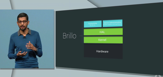 Brillo is Google's operating system for the Internet of Things