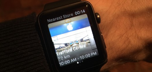 The Apple Watch can now tell you all about your local Apple Store