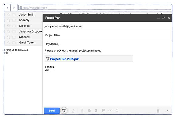 how to find large files in gmail