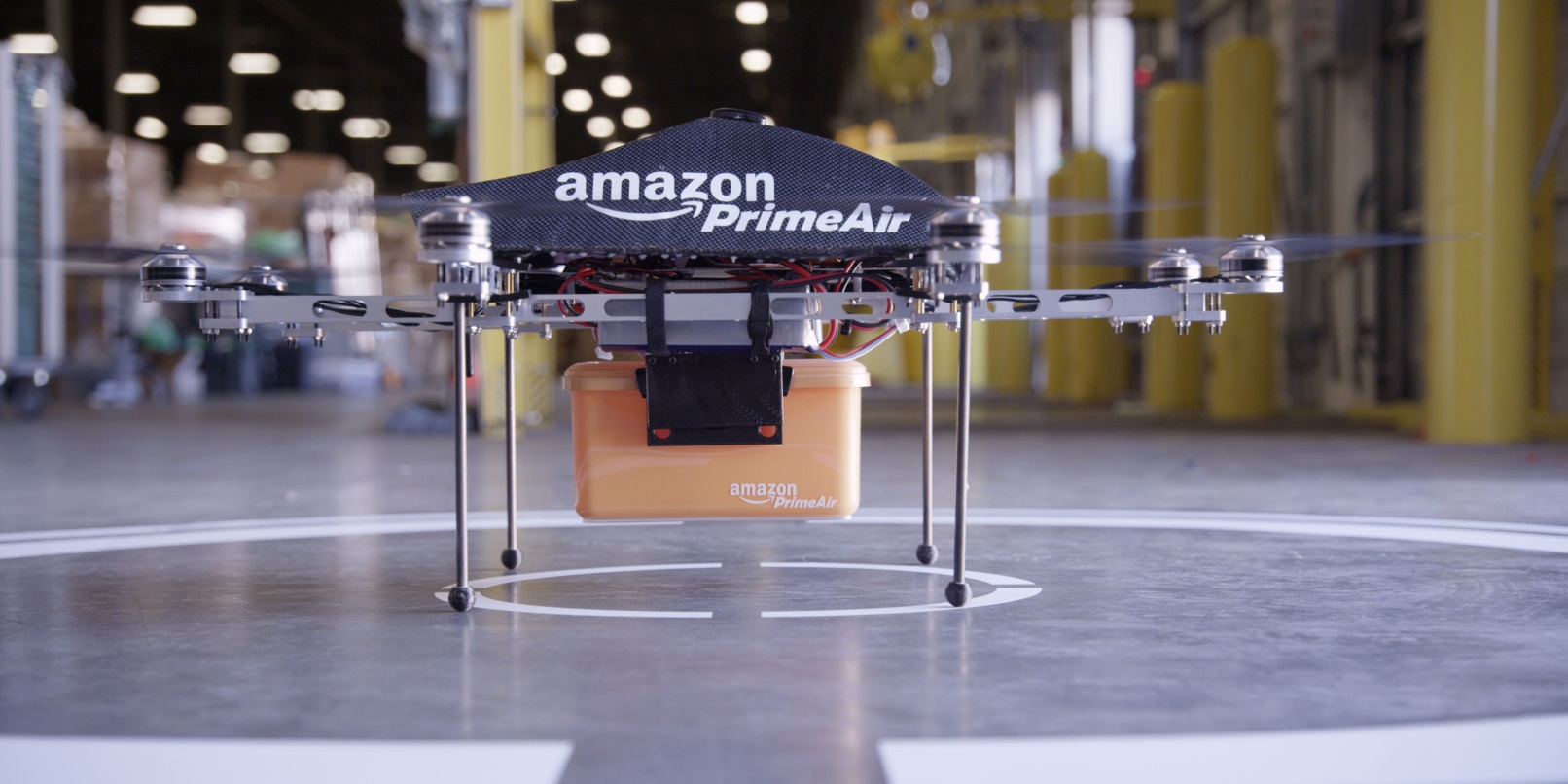 Amazon's Delivery Drones Might Stalk You to Make a Drop-off