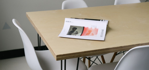 simple book on work table