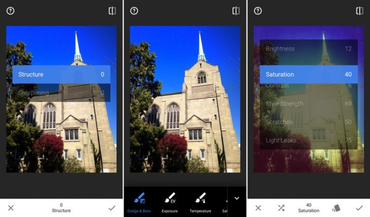 snapseed3 730x429 730x429 21 of the best iOS apps from April 2015