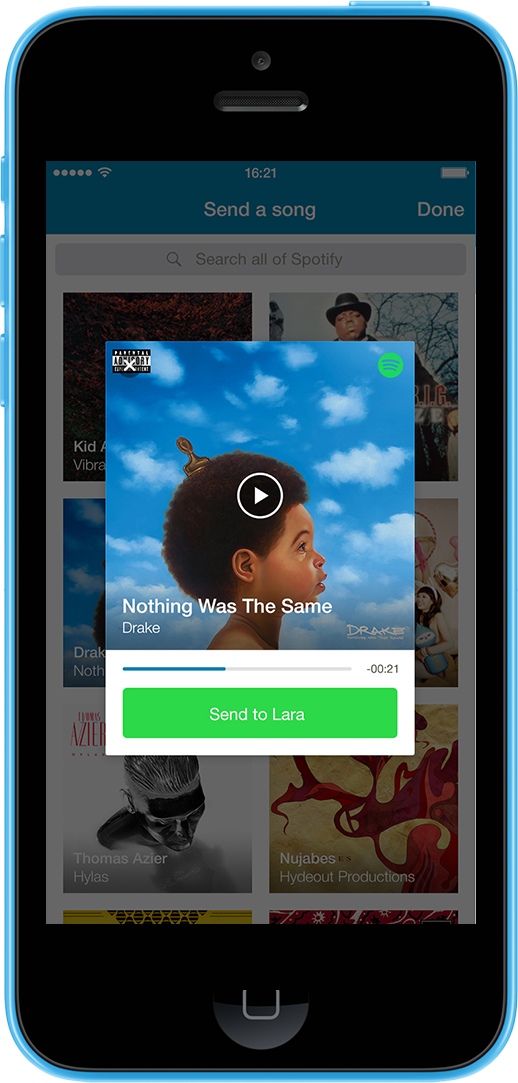You can now flirt with strangers on Happn using songs from