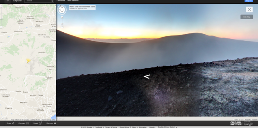 Google Mount Etna