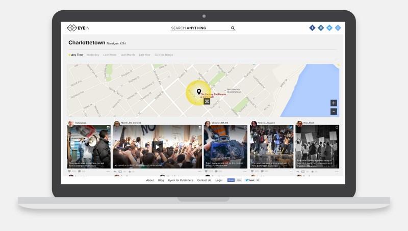 EyeIn location-based search