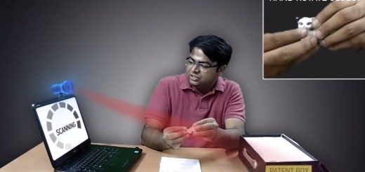 Microsoft patent 3D scanning