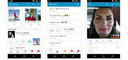 Addappt for Android update has a completely new UI built for faster navigation