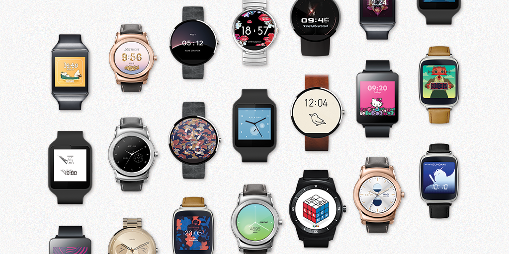 android wear branded watch faces