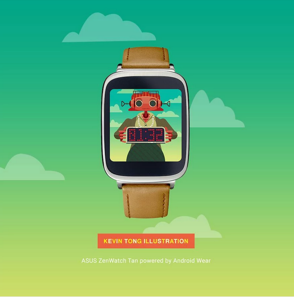 kevin tong android wear