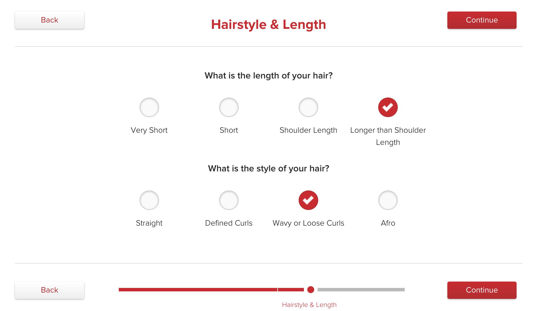 match up questionnaire