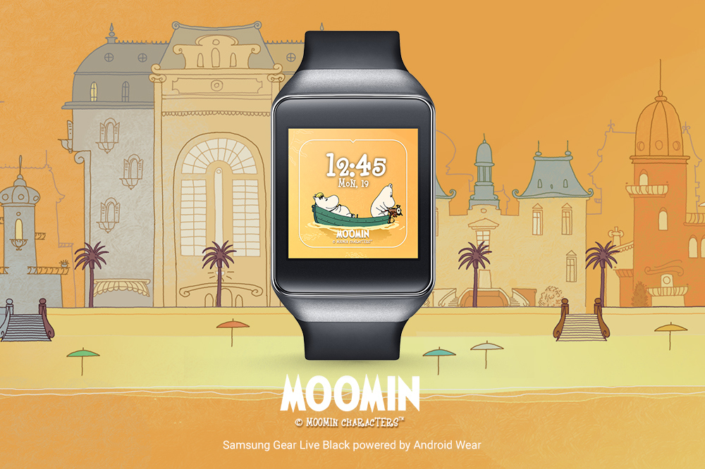 moomins android wear