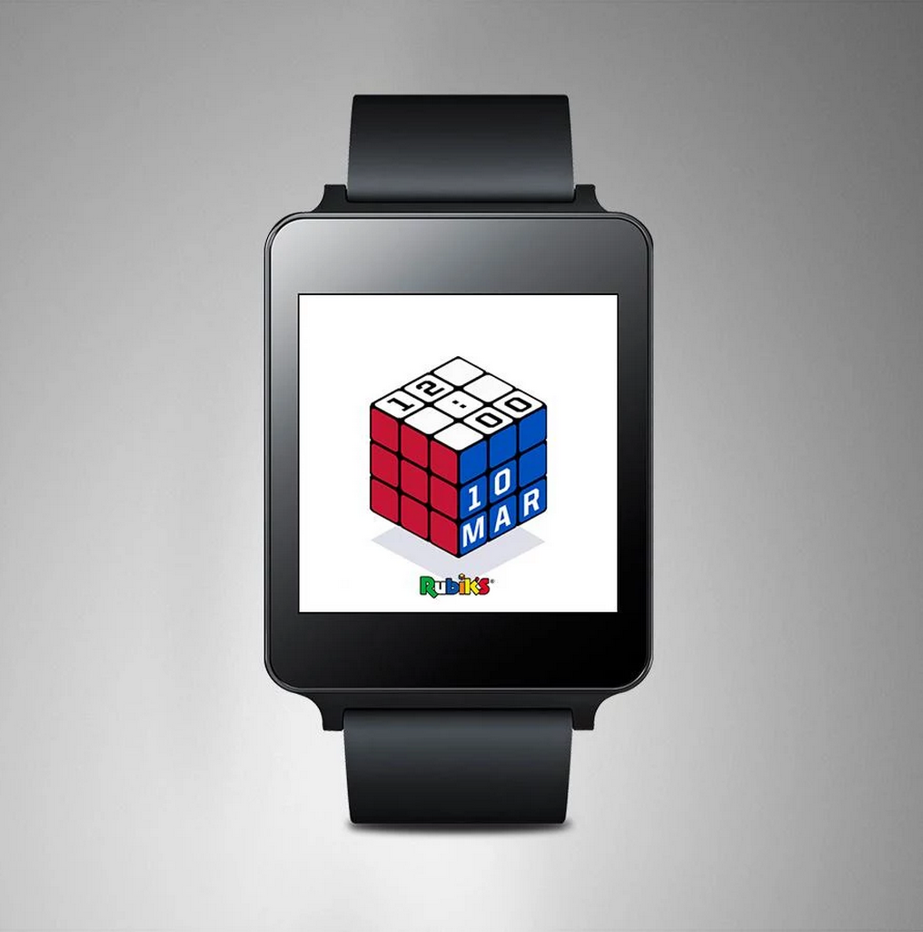 rubik android wear
