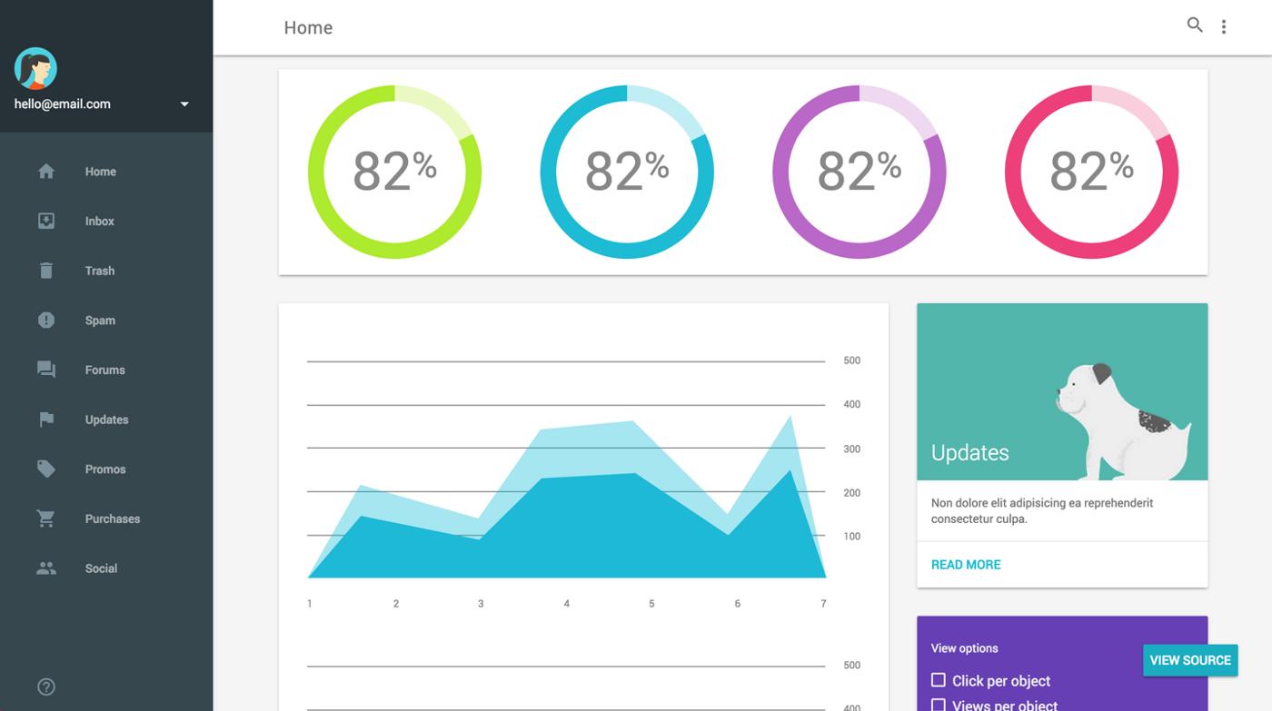 Google Unveils Material Design Lite To Help Websites Look
