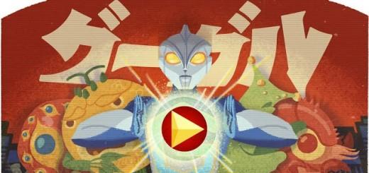 Google Doodle Ultraman