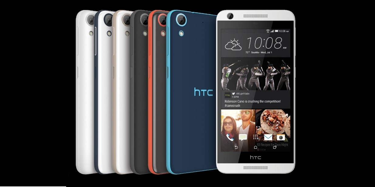 HTC announces 4 new mid-range Android handsets for the US