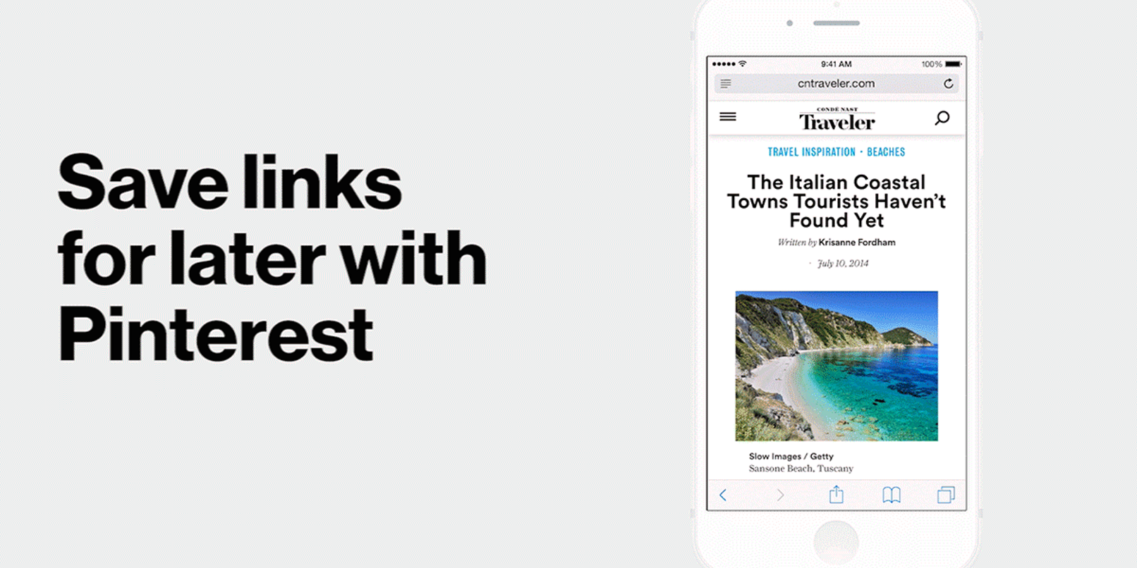 Pinterest on iPhone now has a simple-to-use Pin button