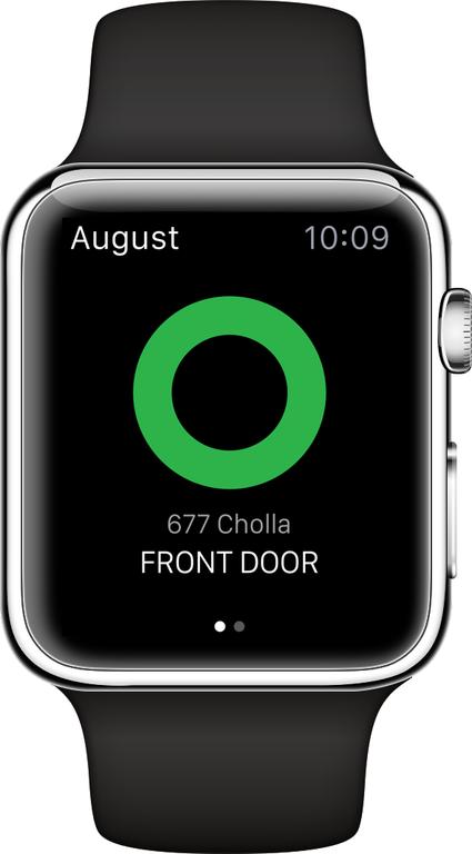 Lock Apple Watch Apple Watch Straight Away