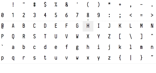 Check out this open source programming typeface entirely generated by code