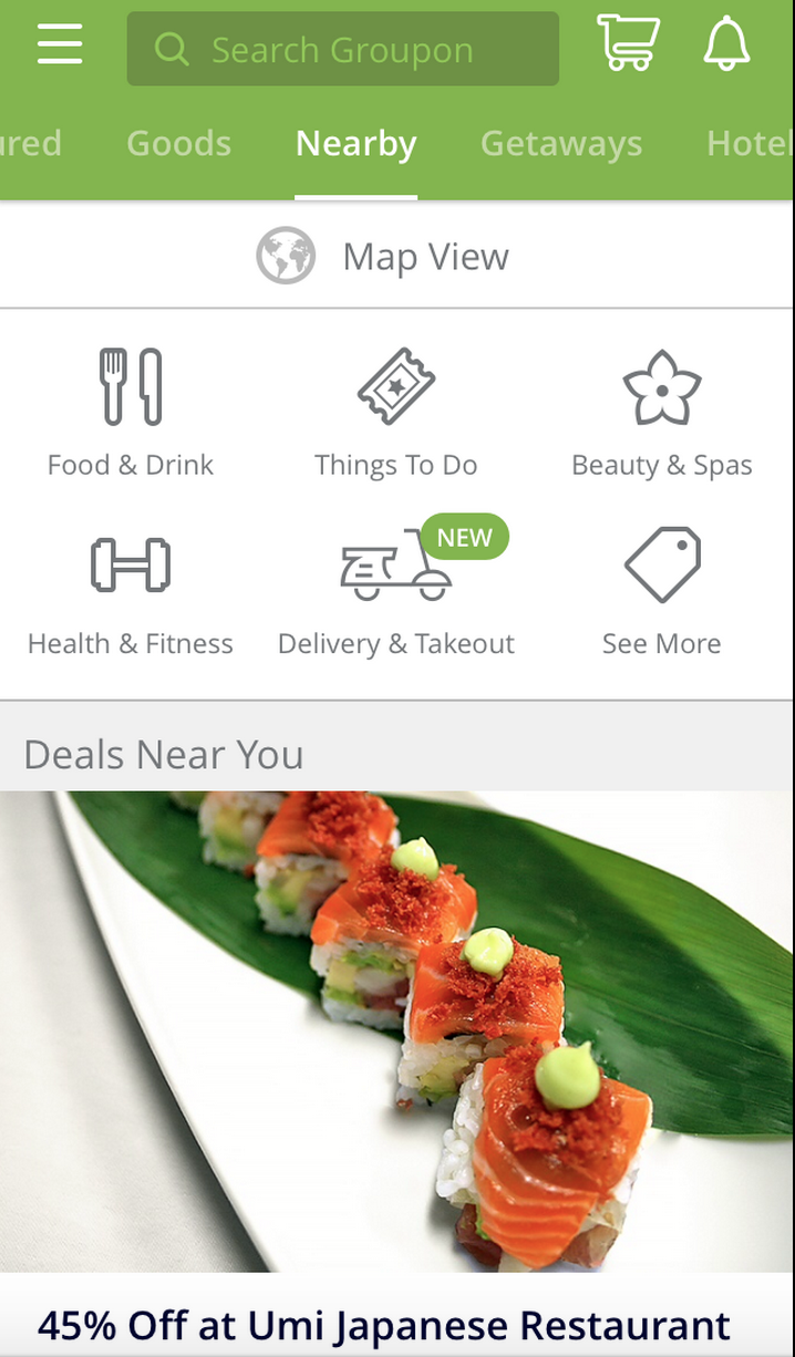 groupon to go app