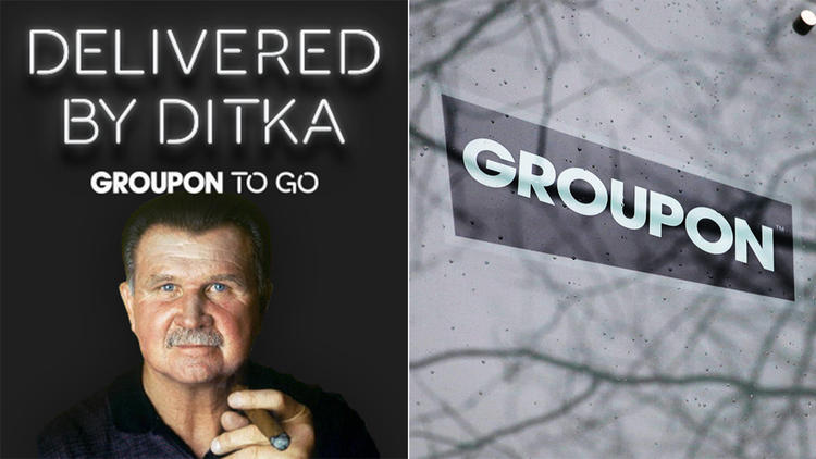 groupon to go mike ditka