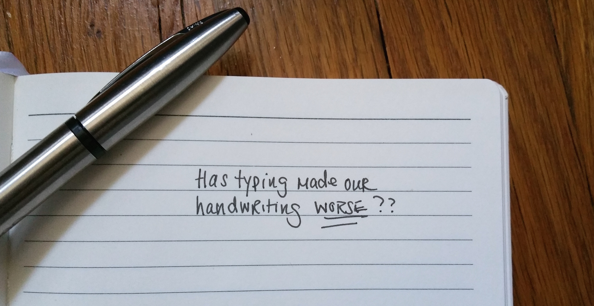 Handwriting vs typing essay