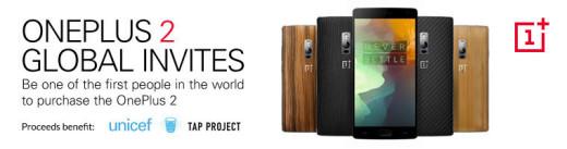 OnePlus 2 Global Invites