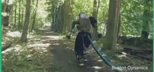 Watch: Boston Dynamics' humanoid Atlas robot can now chase you through the forest