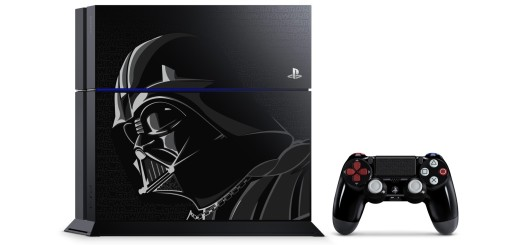 The force is strong with this limited edition Darth Vader-inspired PS4