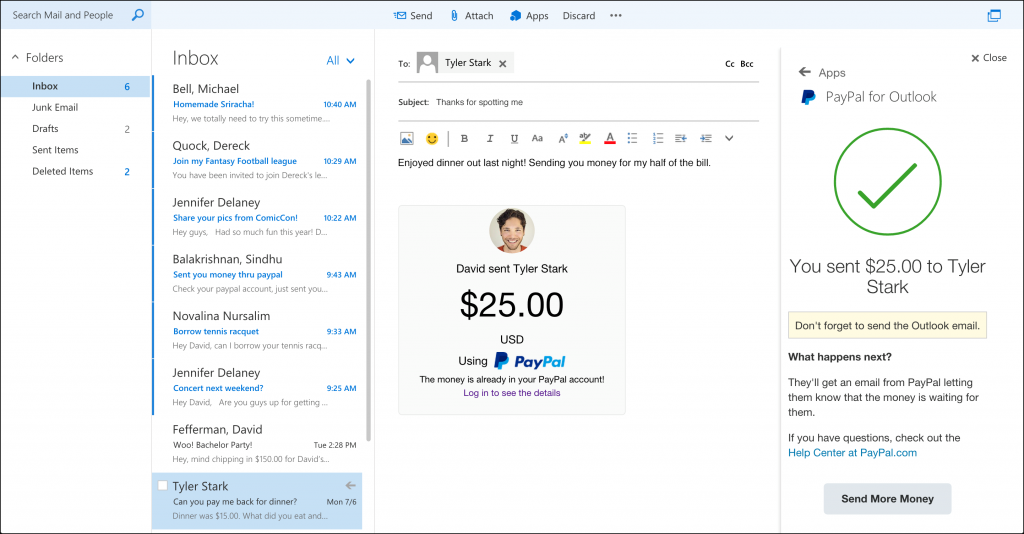how to add paypal to microsoft account