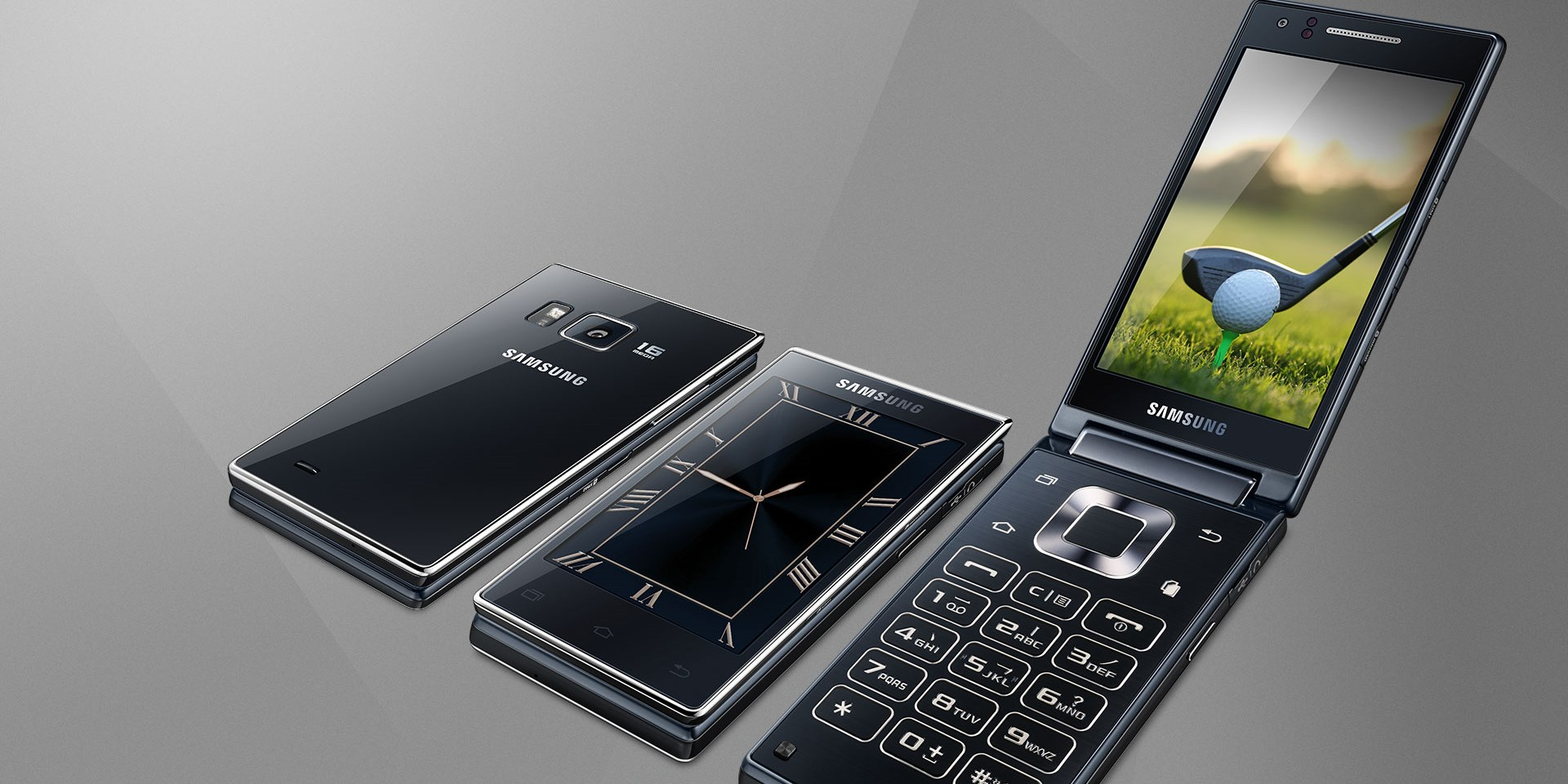 Samsung goes old-school with its latest dual-screen flip-phone