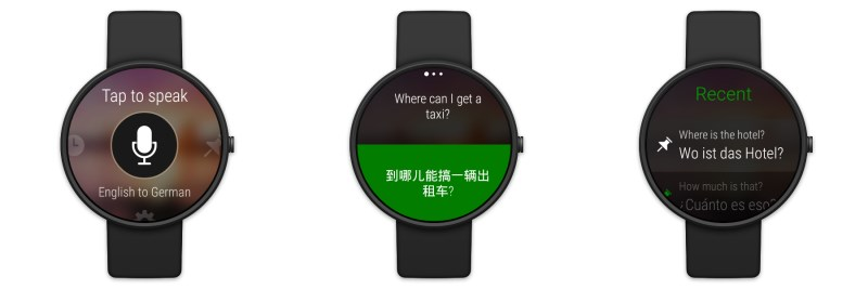Translator on Android Wear