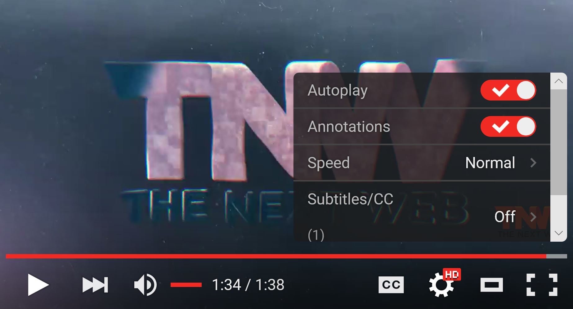 YouTube's Web video player just received a sleek ...