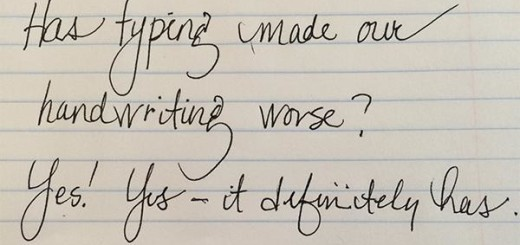The internet agrees: Typing has made our handwriting worse #TNWwrites