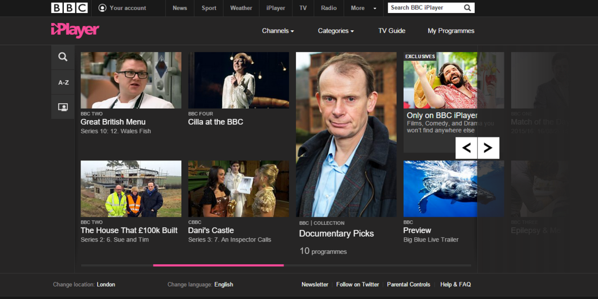 how to watch iplayer on tv