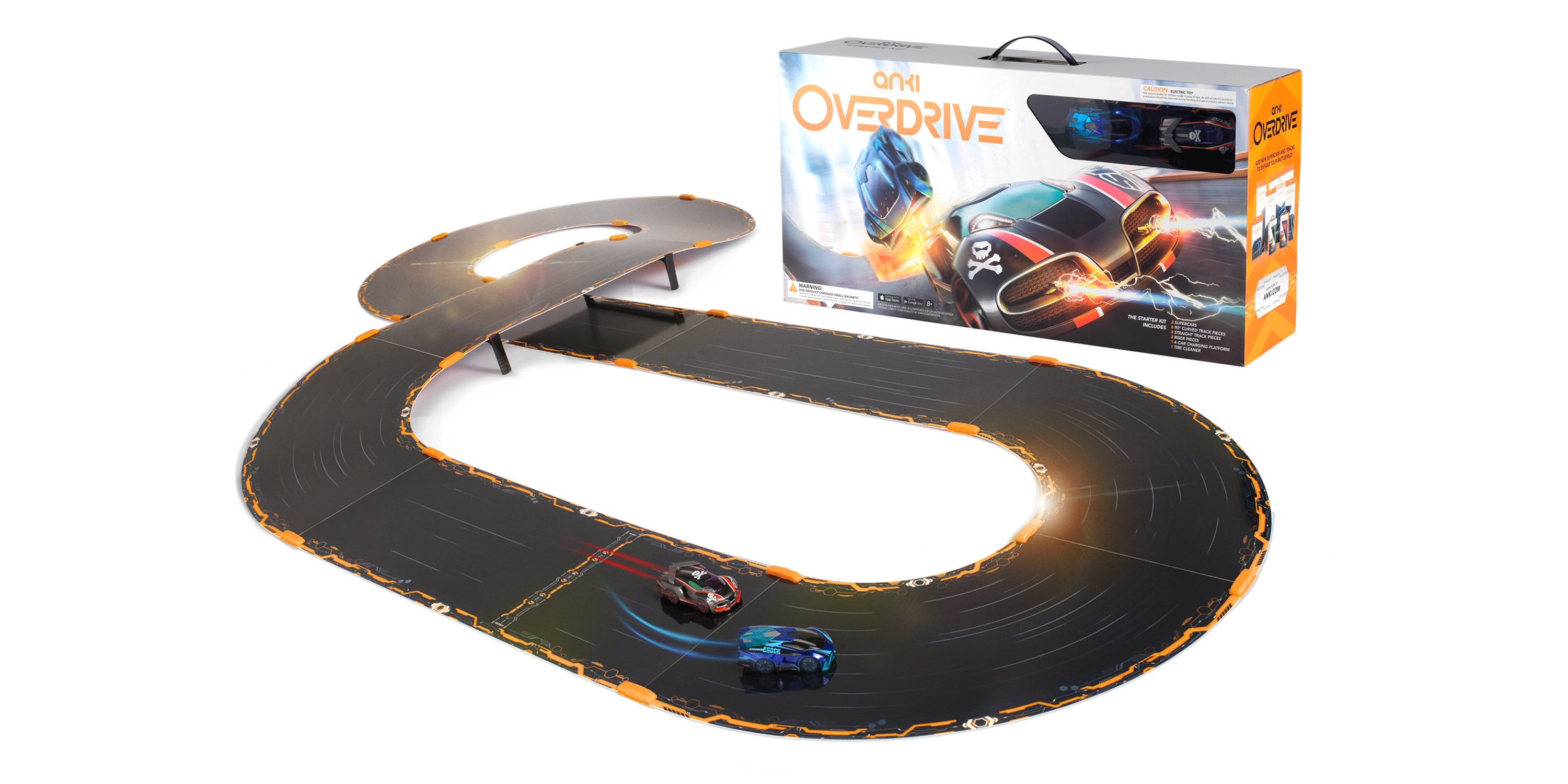 anki 39 s phone controlled slot car racer goes into overdrive. Black Bedroom Furniture Sets. Home Design Ideas