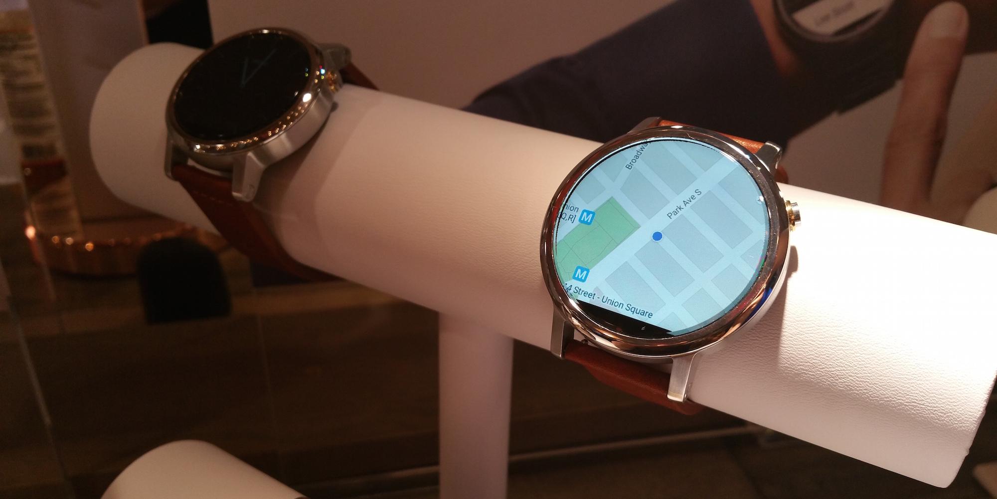 Moto 360 2015 maps