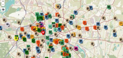 Berlin Refugee Map