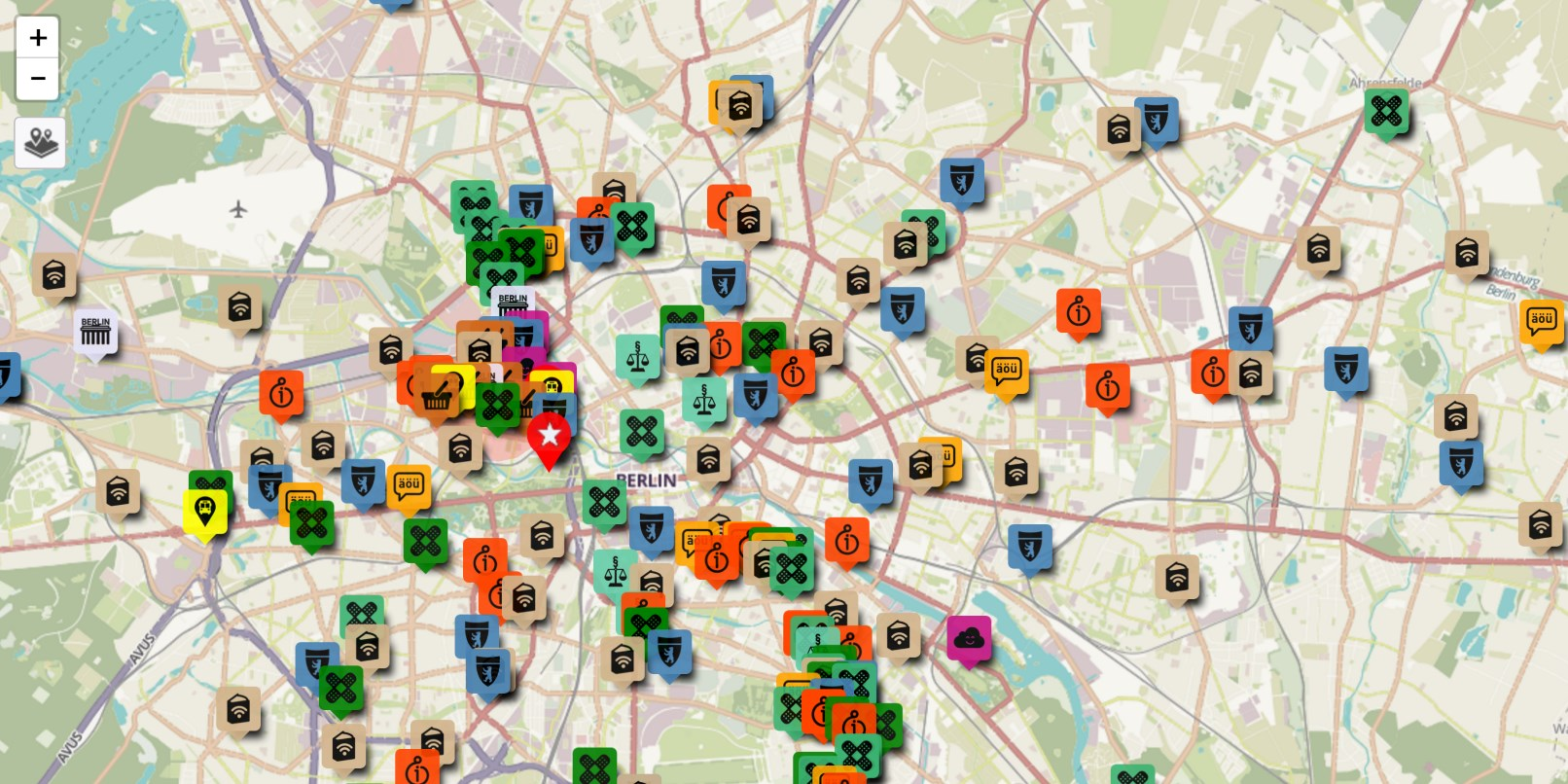 Berlin based refugees create map of resources for newcomers