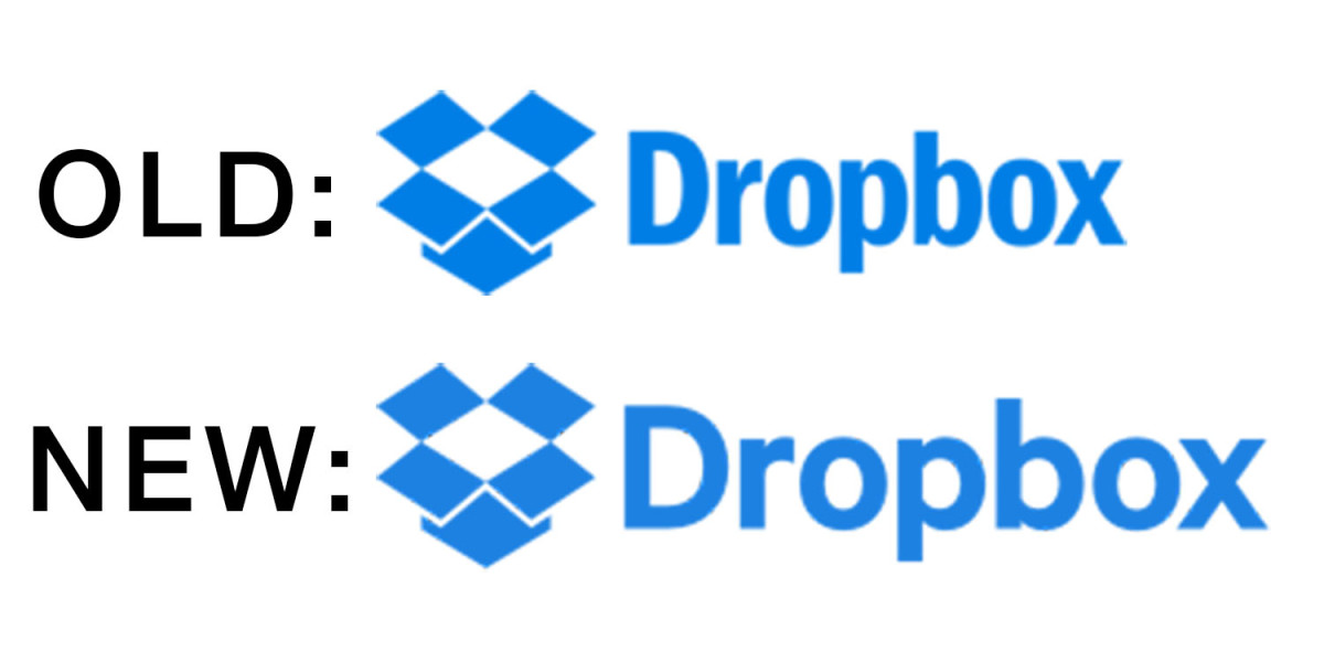 Dropbox Old vs New Logo