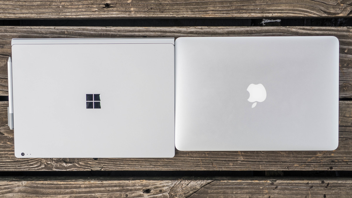 Surface Book vs MBP