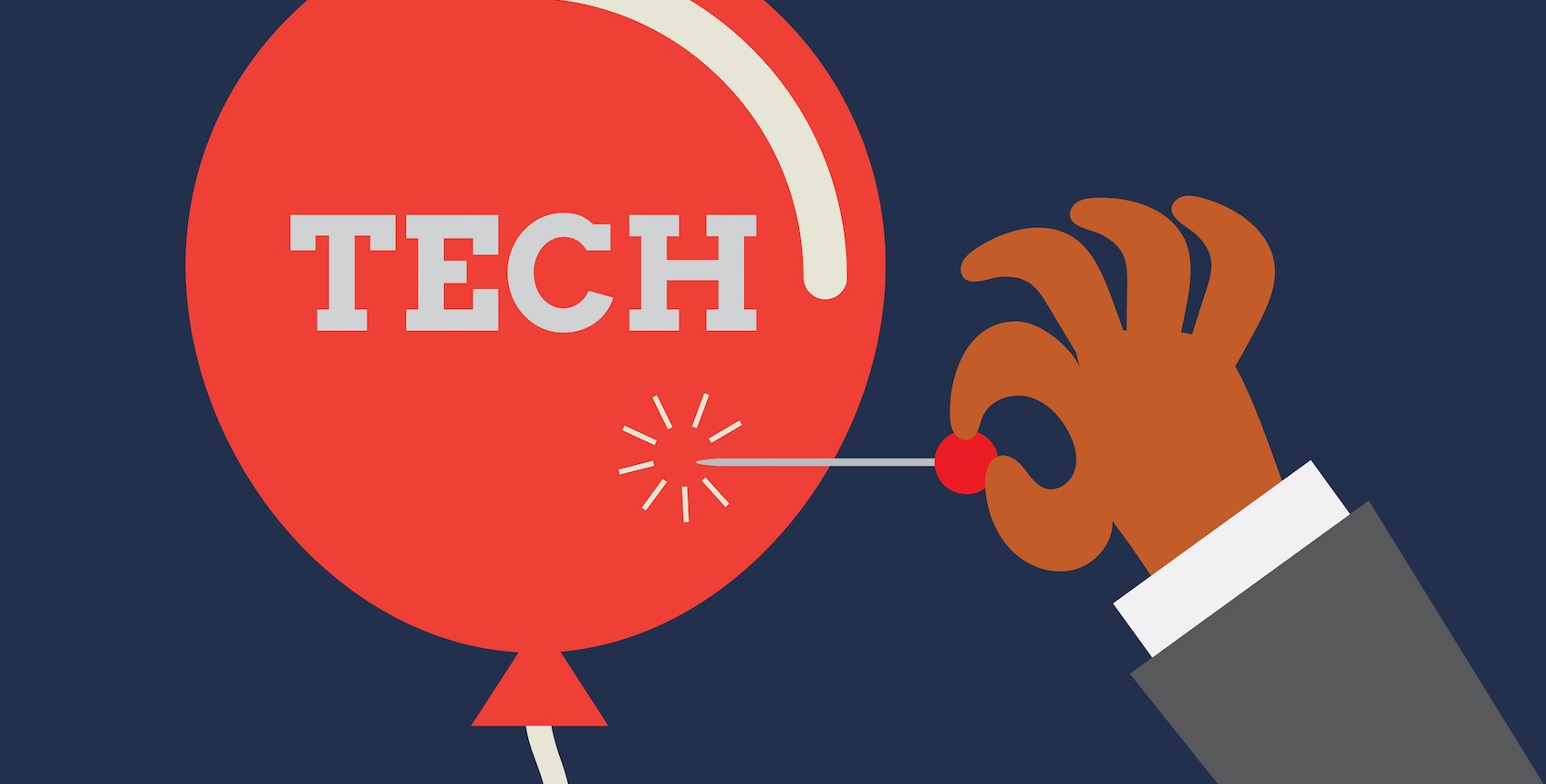 picture of tech in a ballon
