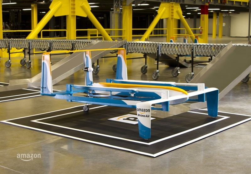 Amazon begins testing delivery drone fleets in the UK