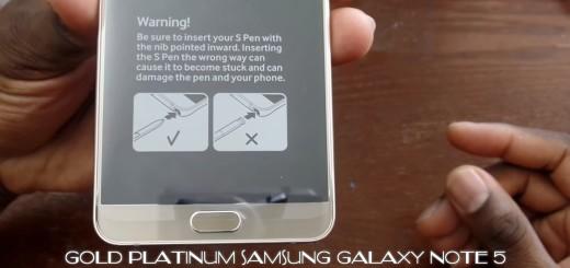 Note 5 Warning Samsung