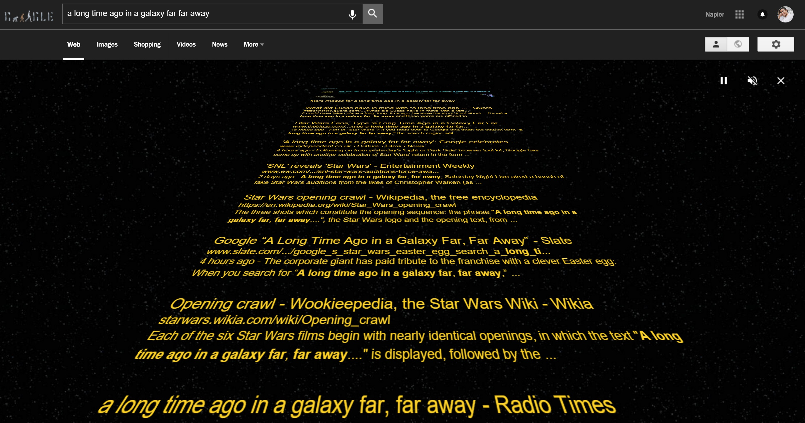 how to make a star wars crawl in powerpoint
