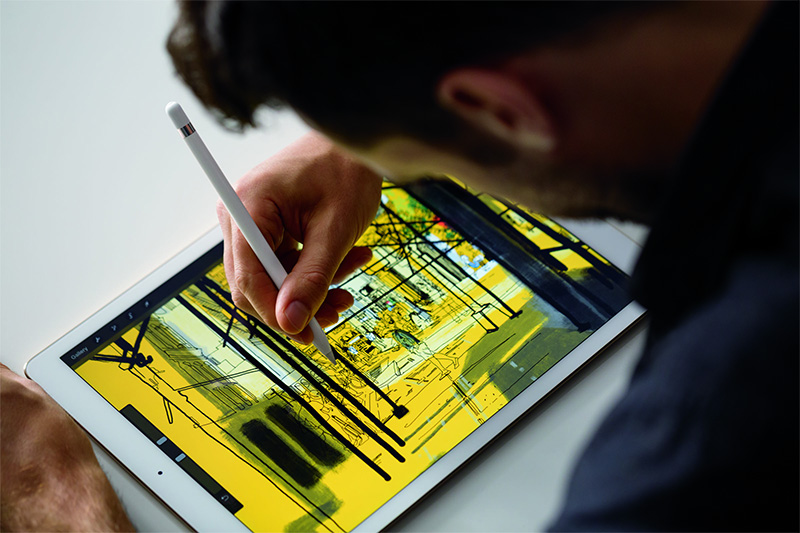 The iPad Pro is great for several applications including sketching, but not everything